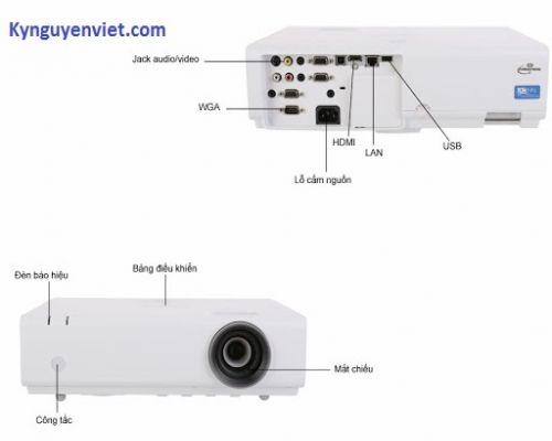 Máy chiếu cũ Sony VPL-EX290