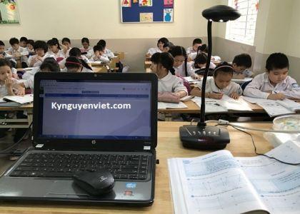 Máy chiếu vật thể điểm đến của dạy học Online 2021