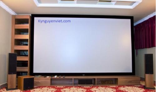 Màn chiếu phim Full HD, 3D, 4K cố định